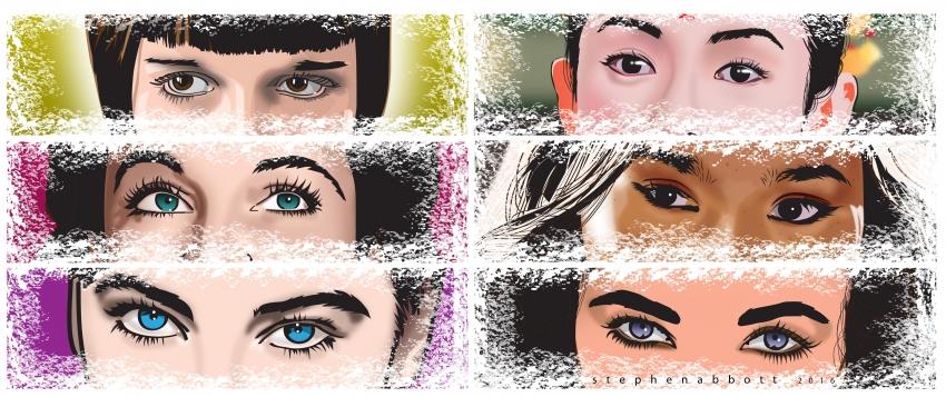 Zhang Ziyi, Devon Aoki, Elizabeth Taylor, Leslie Caron, Vivien Leigh, Louise Brooks por Henstepbatbot